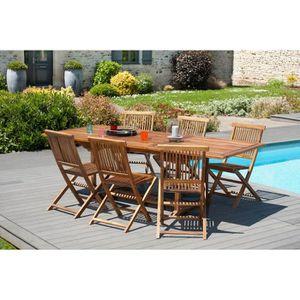 Table de jardin largeur 60 cm - Achat / Vente pas cher