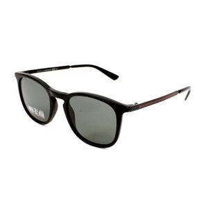 LUNETTES DE SOLEIL Lunettes de soleil Gucci GG 1130-S -GTNBA Noir mat