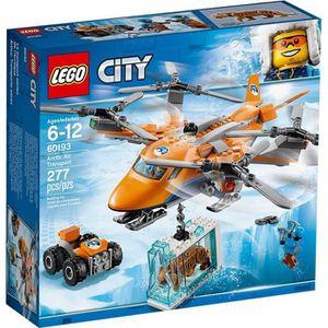 ASSEMBLAGE CONSTRUCTION LEGO® City 60193 L'Hélicoptère Arctique