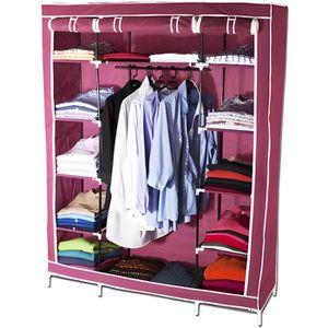 AMENAGEMENT DRESSING Armoire de rangement dressing XXL - coloris bor...