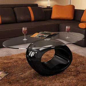 TABLE BASSE Table basse de salon scandinave 115 x 65 x 40 cmSt