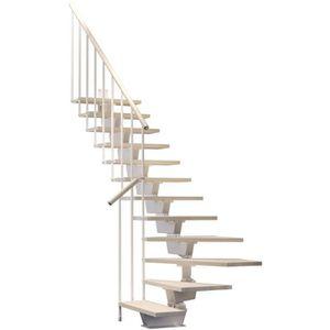 ESCALIER Escalier quart tournant 12 marches - Structure mét