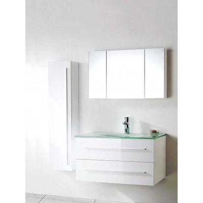 vasque en verre avec meuble auc3700813601193