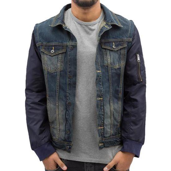 Vestes saison Demi amp; Sleeves Veste Bomber Clubwear Homme Vsct Blousons A4vRRx