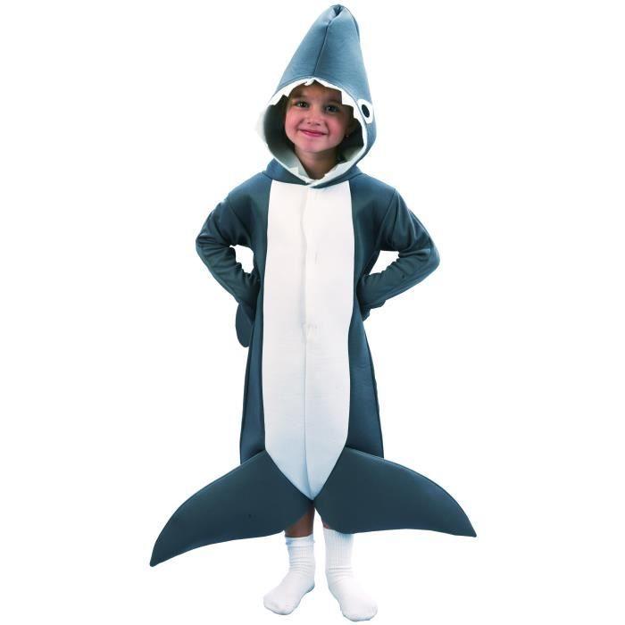 d guisement de requin pour gar on 1 2 ans achat vente d guisement panoplie cdiscount. Black Bedroom Furniture Sets. Home Design Ideas