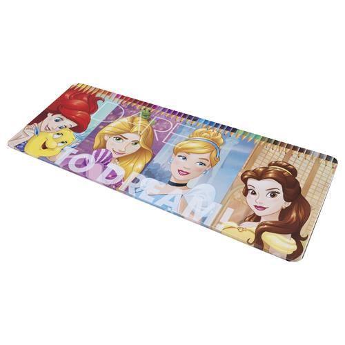 Coloriage Ariel En Couleur.Boite Metal De 50 Crayons De Couleurs Princess Disney Ariel La Belle