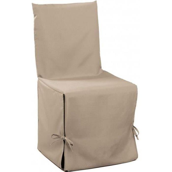 housse de chaise achat vente housse de chaise pas cher cdiscount. Black Bedroom Furniture Sets. Home Design Ideas
