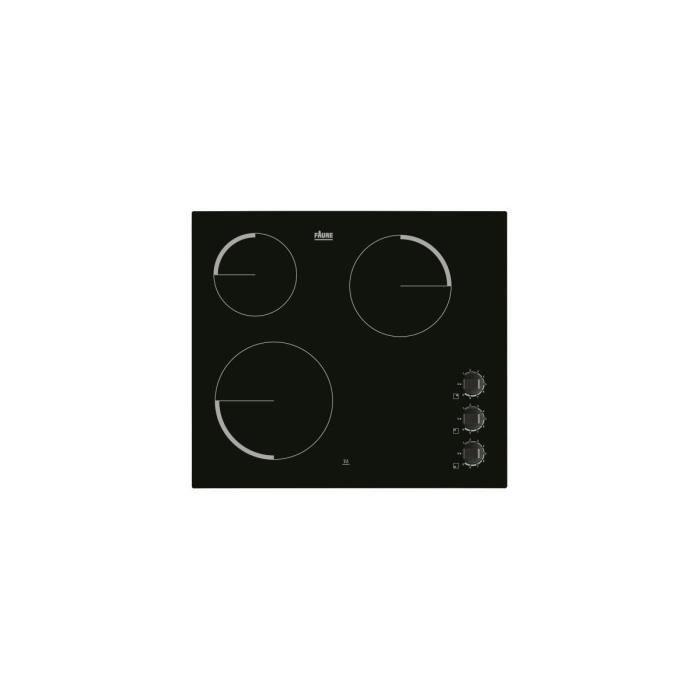 PLAQUE VITROCÉRAMIQUE  FAURE Table Cuisson Vitrocéramique - Largeur (mm):