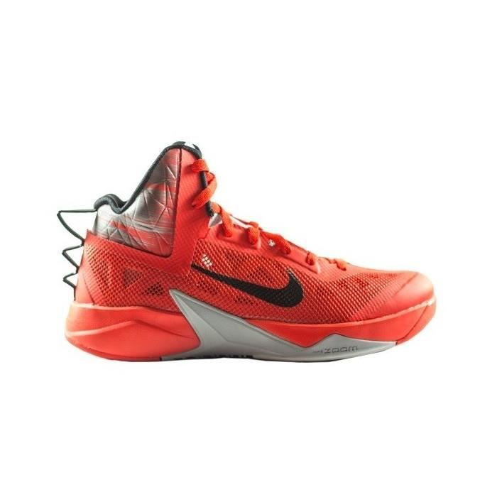 CHAUSSURES BASKET-BALL Chaussure de Basket Nike zoom hyperfuse 2013 rouge