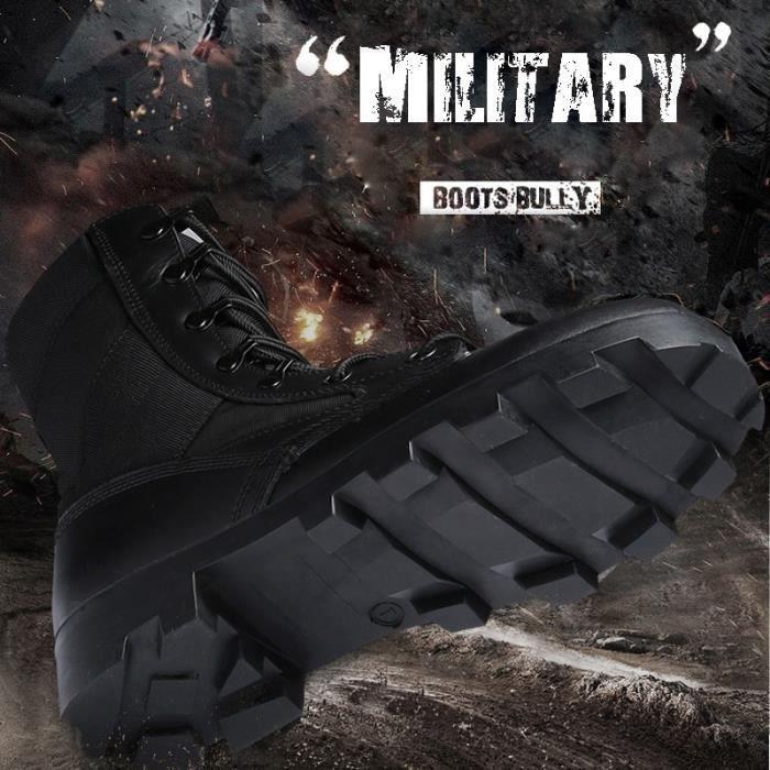 Bottes pour Hommemarron 40 imperméables de combat militaires Camouflage Outdoor SFSY hommes_5085