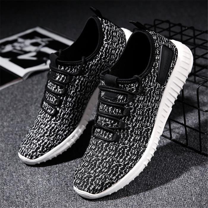 Sneaker Homme Meilleure Qualité Nouvelle Beau Léger Chaussure Antidérapant Mode Confortable Sneakers Classique Doux Durable 39-44