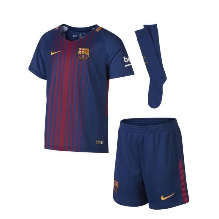 c7803e4594650 Tenue de football Nike FC Barcelona Stadium Home 2017 18 Cadet - Ref.  847355-457