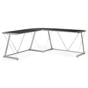 meuble d angle en verre achat vente meuble d angle en. Black Bedroom Furniture Sets. Home Design Ideas