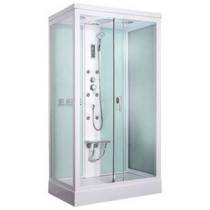 CABINE DE DOUCHE Cabine de douche hydromassante Loula 120x80cm