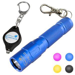 ACCROCHE-SAC Lampe de poche porte-clés 130 LED Lumen, queue mag