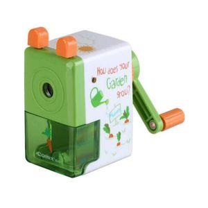 Utiles Papeterie Accessoires Manuel main manivelle taille-crayon Avec Cartoon Design Robot