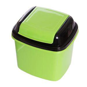 POUBELLE - CORBEILLE Mignon mini-poubelle bin poubelle avec couvercle,