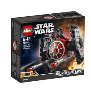 ASSEMBLAGE CONSTRUCTION LEGO® Star Wars™ 75194 Microfighter Chasseur TIE d