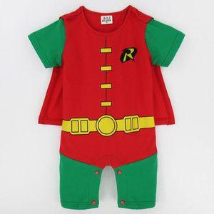 4348fc3274c85 Ensemble de vêtements Vêtements bébé Garçon Batman Robin Pyjama Cosplay