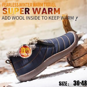 APRES SKI - SNOWBOOT Femmes Hommes Urban confortable doux skidproof cha