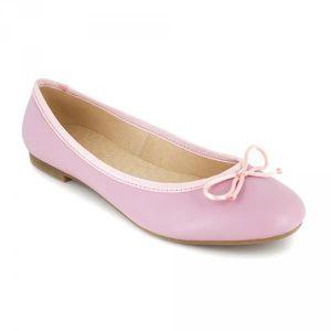 J.bradford Ballerine  Cuir Rose JB-VALERIA Rose - Livraison Gratuite avec  - Chaussures Ballerines Femme