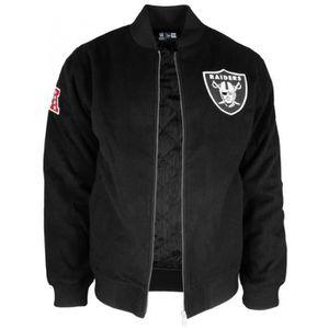 00d32879323a8 BLOUSON Blouson New Era Team App Melton Oakland Raiders -