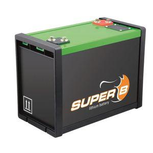 BATTERIE VÉHICULE SUPER B Batterie Lithium 100 Ampères