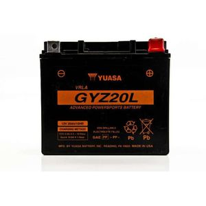 BATTERIE VÉHICULE Batterie Yuasa GYZ20L GEL Honda GL1800 GOLDWING 01