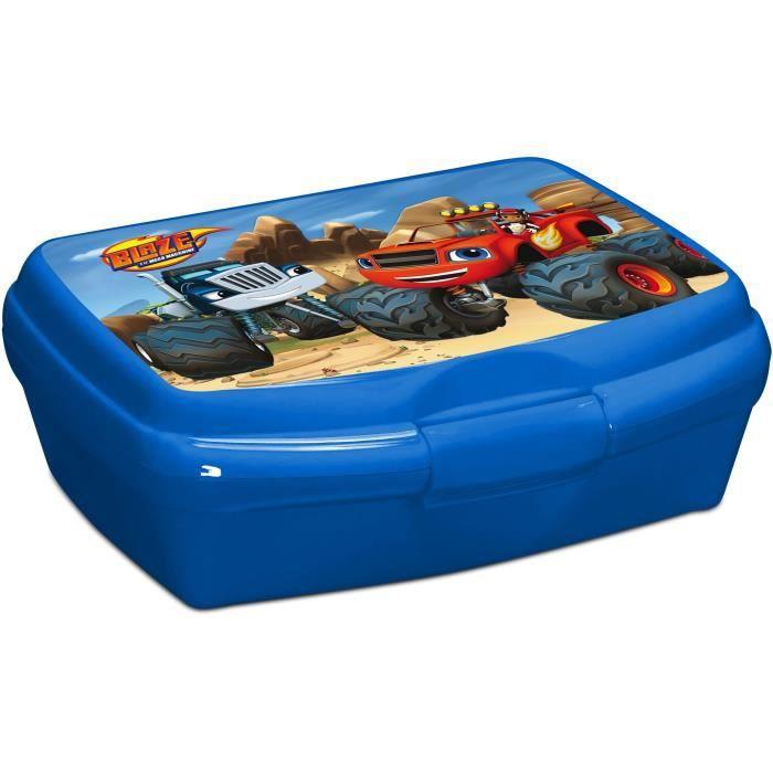 Blaze boîte à goûter 17x13x6 cm bleu