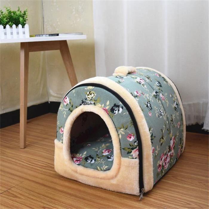 2 En 1 Maison Et Canapé Lit Pour Chien Chat Chiot Lapin Chaud Pet Douce Chaude De Pet@wdl81112475b