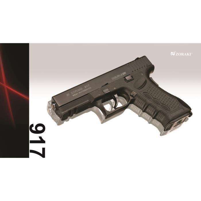 Zoraki 917 black arme de d fense cal 9mm p a k prix pas cher cdiscount - Arme pas cher ...