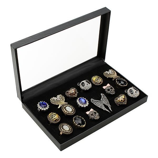 36 Support Présentoir Écrin de Bague Bijoux Rangement - Achat / Vente présentoir bijoux ...