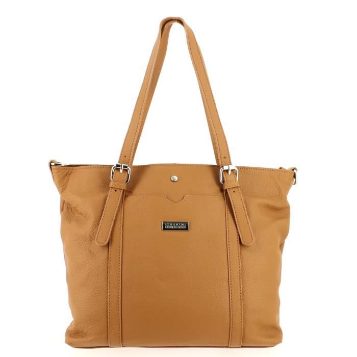 Sac shopping GEORGES RECH Max Taupe.