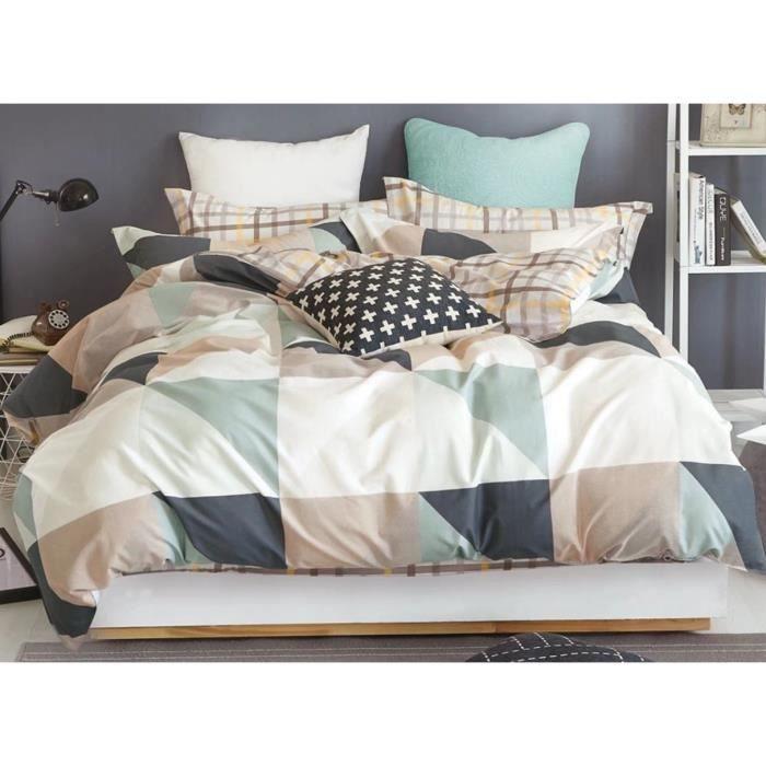 Louisiana Parure de lit moderne de Housse de couette réversible