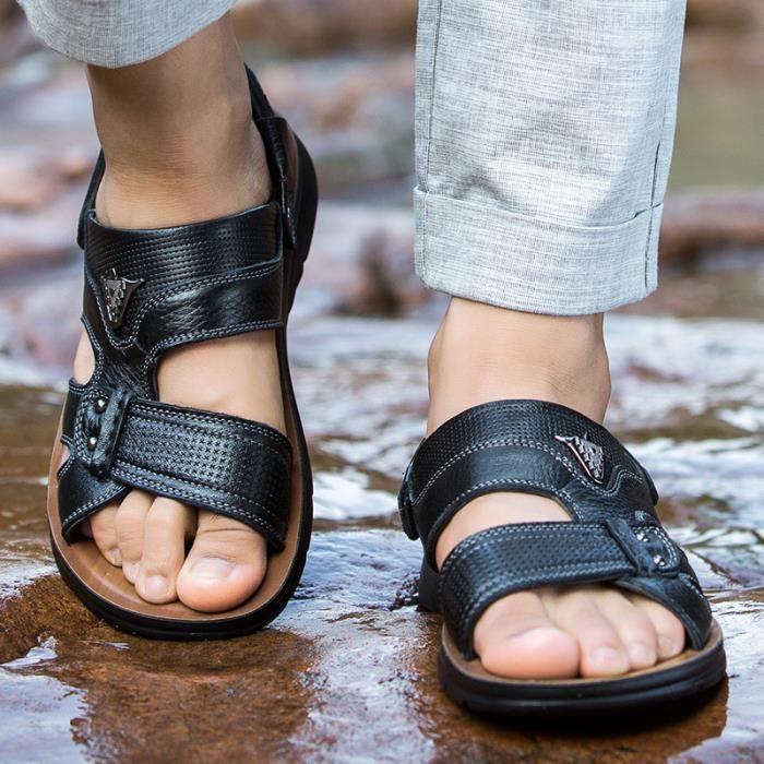 Causal Hommes De D'été Mode Plage Sandale Respirant Nouvelle Sandales 8U1vq6n