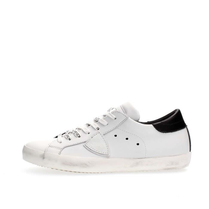PHILIPPE MODEL PARIS SNEAKERS Homme WHITE, 43