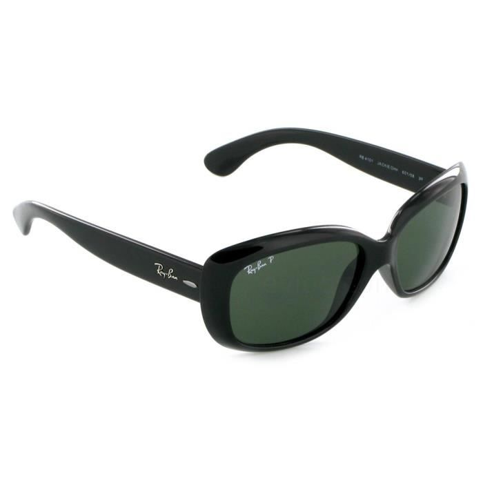 17aa8e7997619 Ray Ban Jackie Kennedy 4101 Noir Taille   58 Noir - Achat   Vente ...