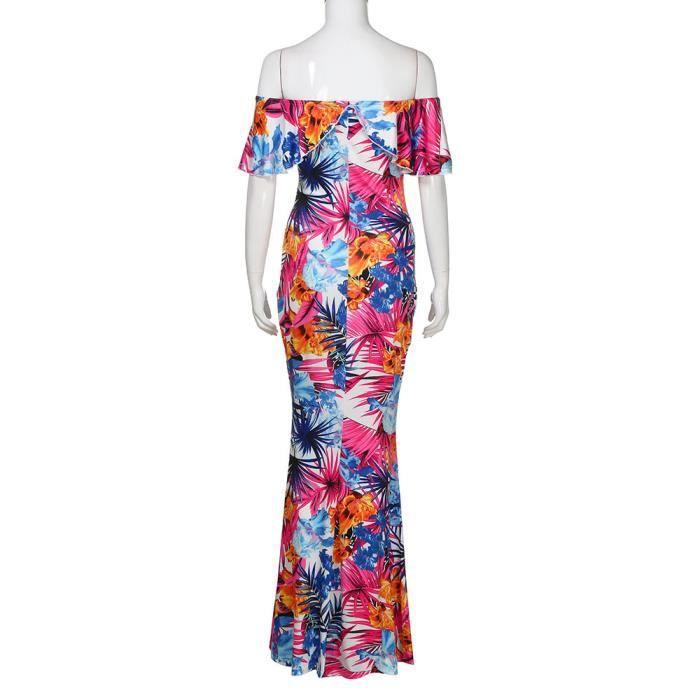 Mode féminine à manches longues hors épaule Mini robe en jean @LZP80308144