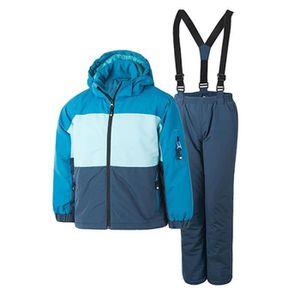 COMBINAISON DE SKI COLOR KIDS Ensemble de Vêtement de Ski Enfant Garç