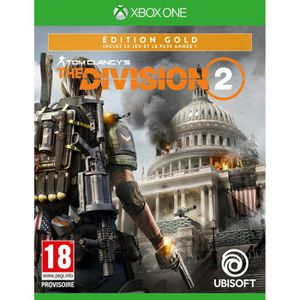 JEU XBOX ONE The Division 2 Édition Gold Jeu Xbox One