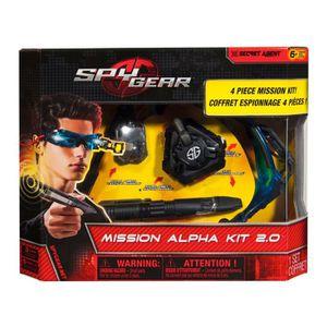 SPY GEAR Coffret Espion Mission Alpha