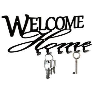 ARMOIRE - BOITE A CLÉ Tableau des clés - Welcome Home, acier