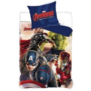 HOUSSE DE COUETTE Parure de Lit Avengers