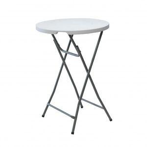 MANGE-DEBOUT Table de bar pliant de 80 cm x 110 cm avec cadre e