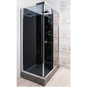 cabine de douche 80 120 achat vente cabine de douche 80 120 pas cher cdiscount. Black Bedroom Furniture Sets. Home Design Ideas