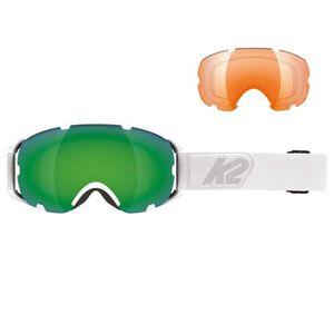 MASQUE - LUNETTES SKI K2 Source Masque Ski Homme - Taille Unique - BLANC ddf62eeeccac
