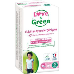 COUCHE Love & Green Culottes Taille 6 - 16 couches