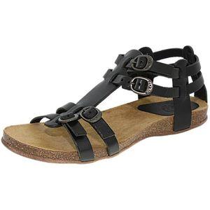 SANDALE - NU-PIEDS Kickers Ana noir , sandales femm...