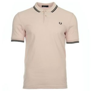 POLO Polo Fred Perry Twin Tipped Shirt Faded Pink