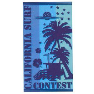 SERVIETTE DE PLAGE Drap de Plage Malibu - Surf Contest